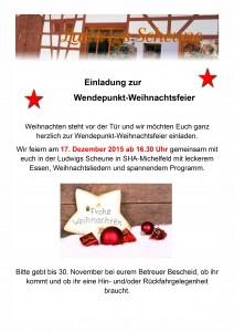 Einladung zur Weihnachtsfeier2015-1